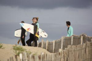 Justine Dupont : observation avant mise à l'eau