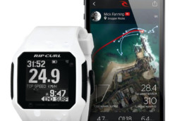 Rip curl - montre search GPS - marées